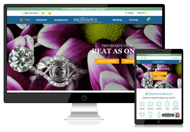 Brilliance - Website Designing